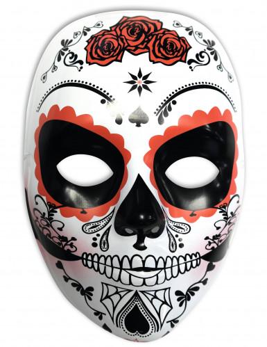 Weiße Maske für Tag der Toten