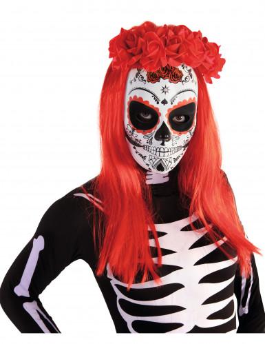 Weiße Maske für Tag der Toten-1