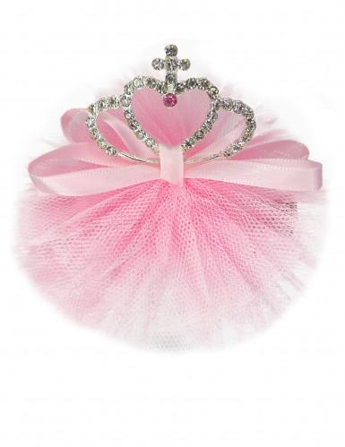 Prinzessinnen Haarspange rosa
