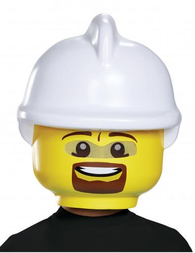 Feuerwehrmann Lego™ Maske für Kinder