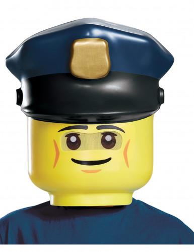Polizei Lego™ Maske für Kinder