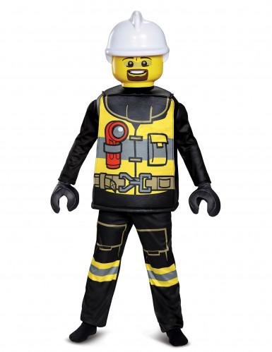 Deluxe Lego™ Feuerwehrmann-Kostüm für Kinder