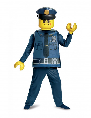 Deluxe Lego™ Polizisten-Kostüm für Kinder