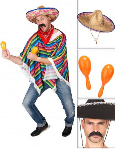 Mexikanisches Set für Erwachsene