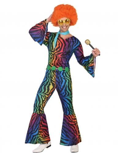 Kostüm Disco Leopard für Herren