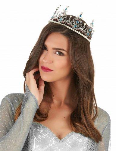 Prinzessinnen-Krone mit Perlen-1