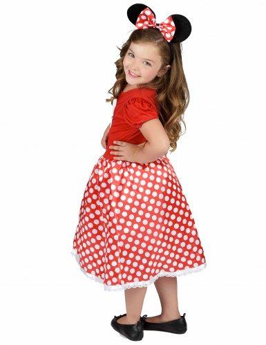 Mauskostüm in Rot-Schwarz-Weiß für Mädchen-2