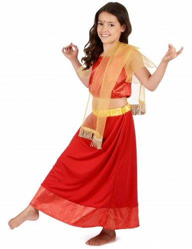 Prinzessin Bollywood Kostüm für Mädchen-1