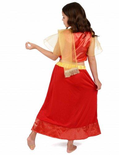 Prinzessin Bollywood Kostüm für Mädchen-2