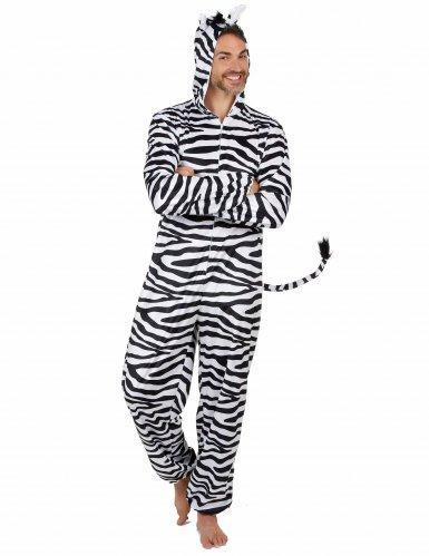 Zebra Kostüm für Herren