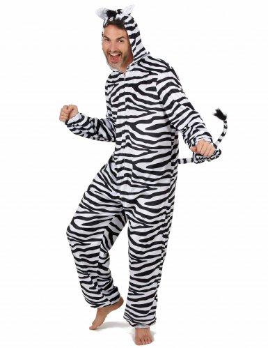 Zebra Kostüm für Herren-1