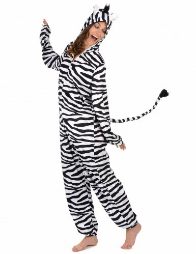 Zebra Kostüm für Damen-1