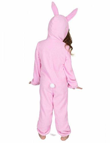 Rosa Hasen Kostüm Einteiler für Kinder-2