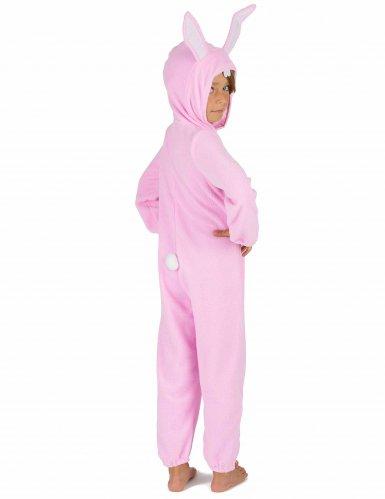 Rosa Hasen Kostüm Einteiler für Kinder-4