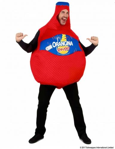 Kostüm Orangina™ Flasche Blutroange in Rot-3