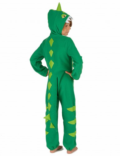 Grün-gelbes Dinosaurierkostüm für Kinder-2