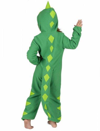 Grün-gelbes Dinosaurierkostüm für Kinder-4