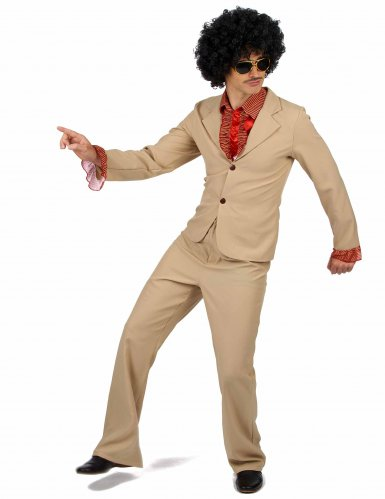 Rüschen-Disco-Kostüm für Herren-1