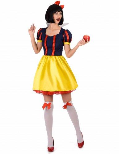 Prinzessin der 7 Zwerge Kostüm für Damen