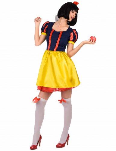Prinzessin der 7 Zwerge Kostüm für Damen-1