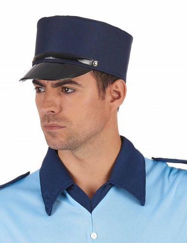 Offizierskappe blau-1
