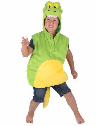 Weiches Krokodil-Kostüm für Kinder