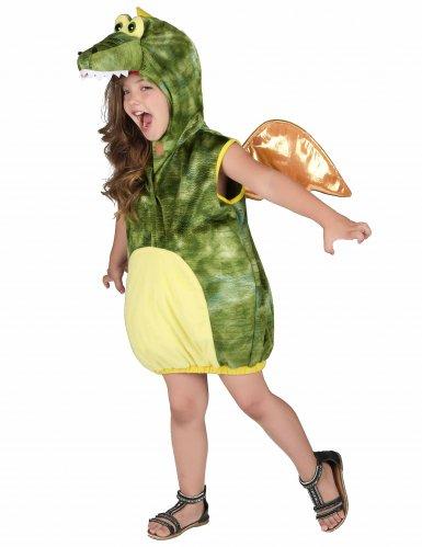 Grünes Dinosaurier-Kostüm für Kinder-1