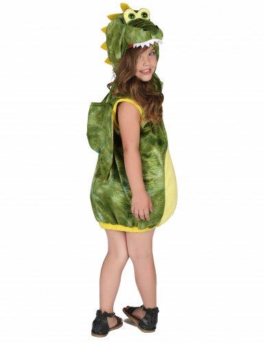 Grünes Dinosaurier-Kostüm für Kinder-2