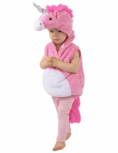 Weiches Einhorn-Kostüm für Kinder-3