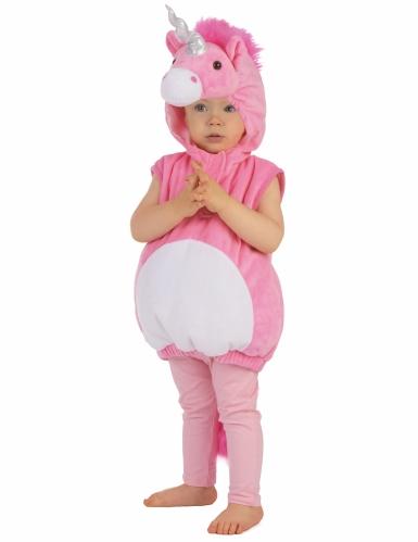 Weiches Einhorn-Kostüm für Kinder-4