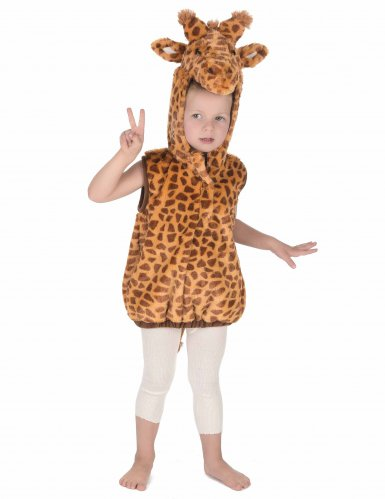 Weiches Giraffenkostüm für Kinder-4