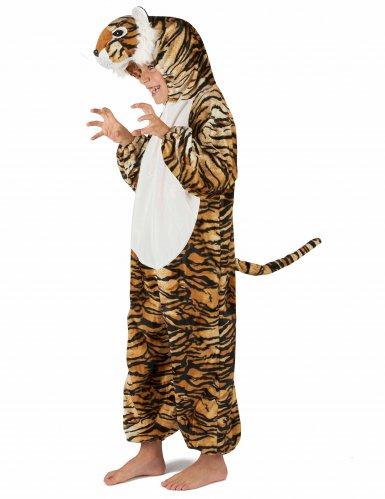 Tiger Kostüm für Kinder schwarz-beige-orangefarben-2