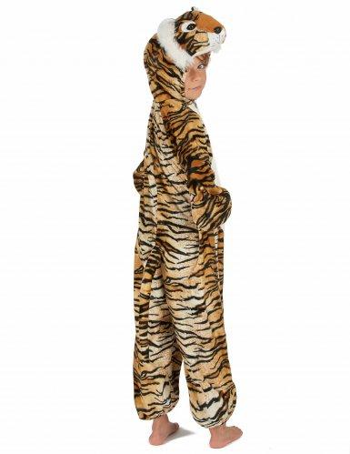 Tiger Kostüm für Kinder schwarz-beige-orangefarben-3