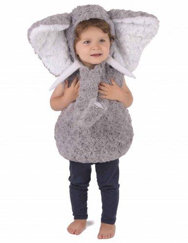 Weiches Elefanten-Kostüm für Kinder