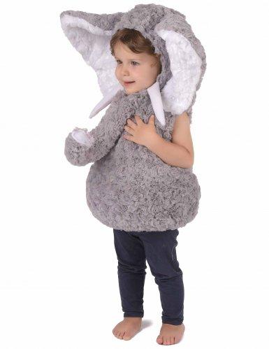 Weiches Elefanten-Kostüm für Kinder-1