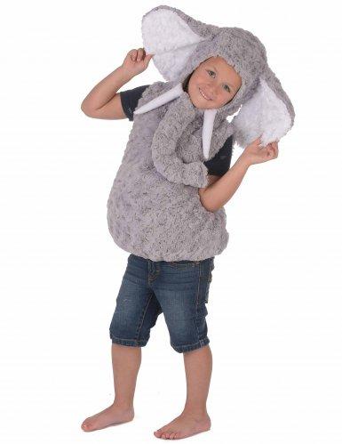 Weiches Elefanten-Kostüm für Kinder-2