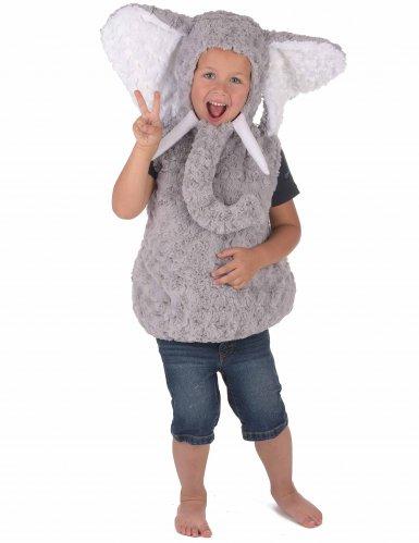 Weiches Elefanten-Kostüm für Kinder-3