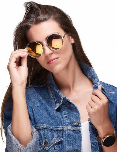 Runde Retro-Brille gold-metallic-1