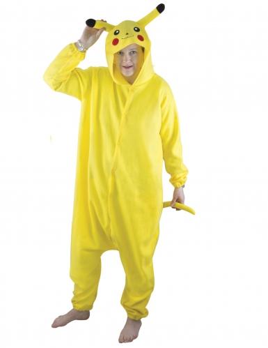 Kigurumi Einteiler Gelbes Nagetier für Erwachsene