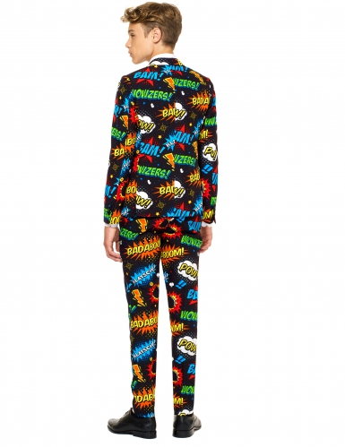 Mr. Comics Teenkostüm Opposuits™ schwarz-bunt-1