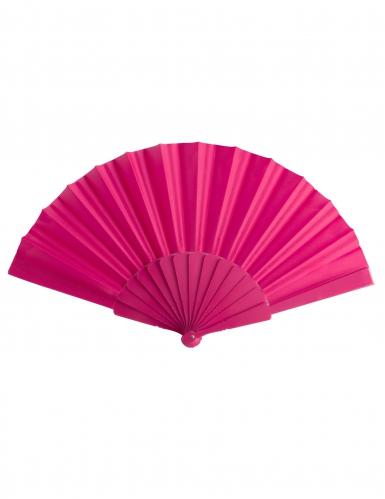 Papier-Fächer Kostümzubehör für Damen pink
