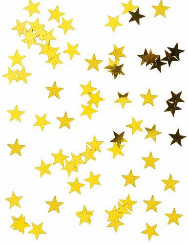 Sternen-Konfetti gold 50g