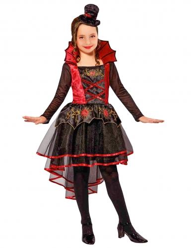 Kostüm Vampirin für Mädchen