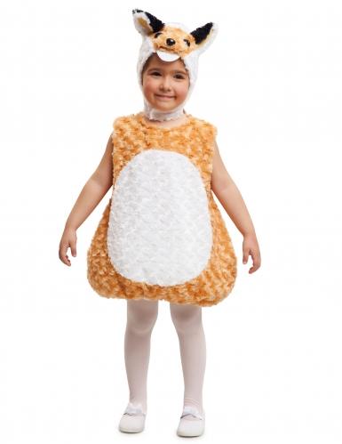 Fuchs Kinder-Kostüm orange-weiß