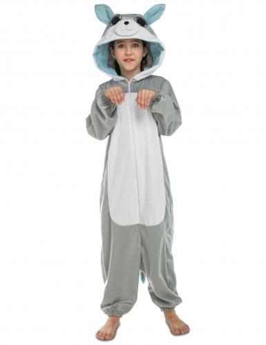 Wolfskostüm Overall für Kinder