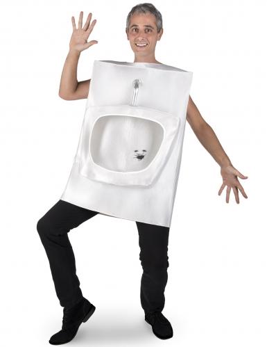 Toiletten Kostüm für Erwachsene