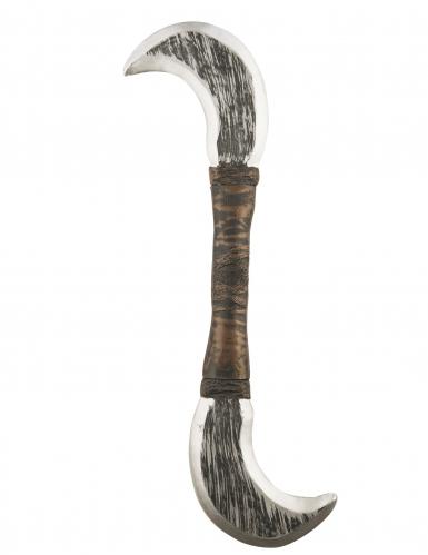 Ninja-Waffe Sichel braun-silber 53 cm
