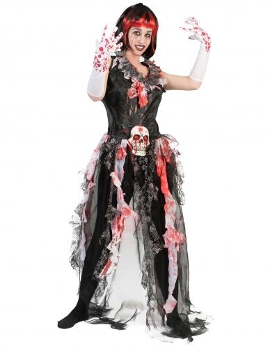 Blutiges Brautkostüm für Damen