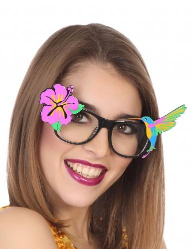 Hawaii-Sommerbrille Tropisch bunt