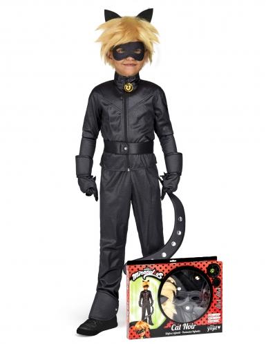 Cat Noir™ Miraculous Kinderkostüm Lizenzartikel schwarz